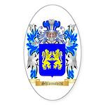 Shlomovits Sticker (Oval 50 pk)
