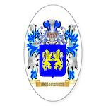 Shlomovitch Sticker (Oval 50 pk)