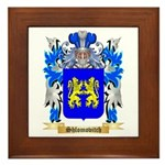 Shlomovitch Framed Tile