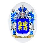 Shlomovitch Oval Ornament
