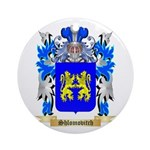 Shlomovitch Round Ornament