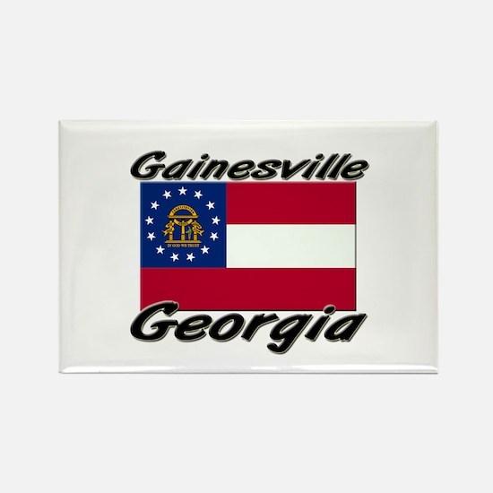 Gainesville Georgia Rectangle Magnet