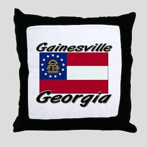 Gainesville Georgia Throw Pillow