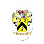 Shire Oval Car Magnet