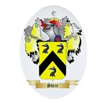 Shire Oval Ornament