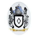 Shipley Oval Ornament