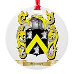 Shinner Round Ornament