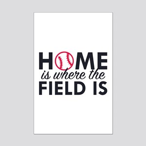 Home Is Where The Field Is Mini Poster Print