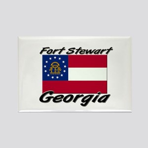 Fort Stewart Georgia Rectangle Magnet