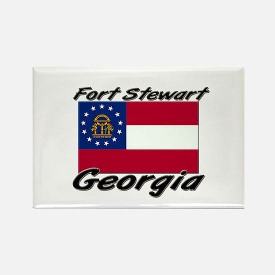 Fort Stewart Georgia Rectangle Magnet