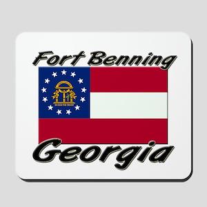 Fort Benning Georgia Mousepad
