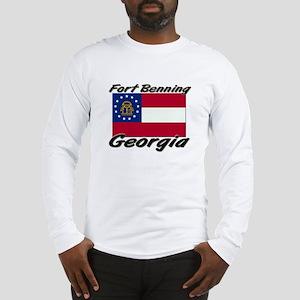 Fort Benning Georgia Long Sleeve T-Shirt