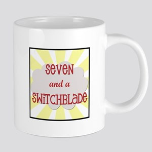 Seven and a switchblade Mugs
