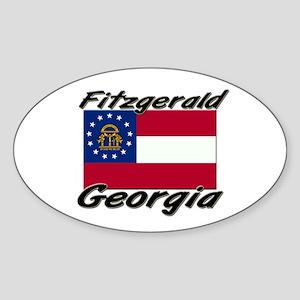 Fitzgerald Georgia Oval Sticker