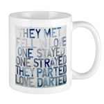 Love Story 2 (darted) Mugs