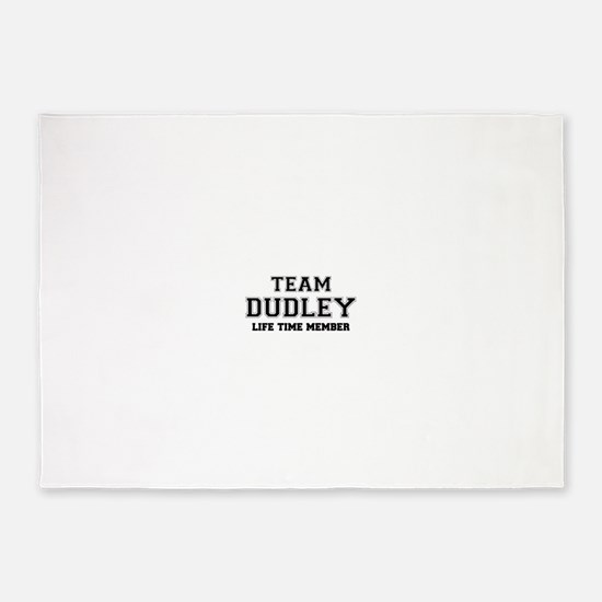 Team DUDLEY, life time member 5'x7'Area Rug