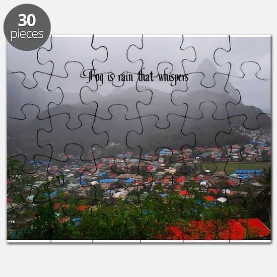 St. Lucia Fog Puzzle