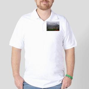 St. Lucia Fog Golf Shirt