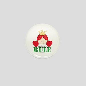 Redheads Rule Redhead Mini Button