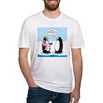Penguin Goofball Fitted T-Shirt