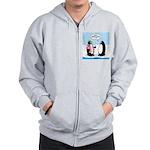 Penguin Goofball Zip Hoodie