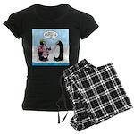 Penguin Goofball Women's Dark Pajamas