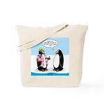 Penguin Goofball Tote Bag