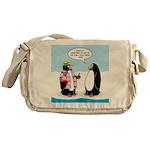 Penguin Goofball Messenger Bag
