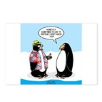 Penguin Goofball Postcards (Package of 8)