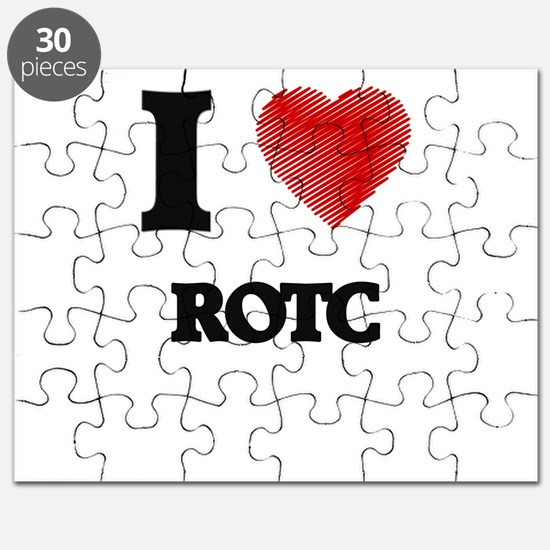 I Love Rotc Puzzle