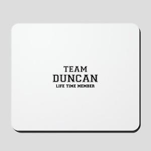 Team DUNCAN, life time member Mousepad
