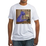 T-Rex of the Apes Fitted T-Shirt