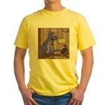 T-Rex of the Apes Yellow T-Shirt