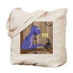 T-Rex of the Apes Tote Bag