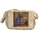 T-Rex of the Apes Messenger Bag
