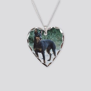 manchester terrier full 2 Necklace