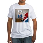 Rocket Scientist Fitted T-Shirt