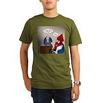 Rocket Scientist Organic Men's T-Shirt (dark)