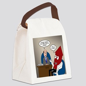 Rocket Scientist Canvas Lunch Bag