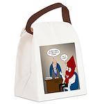 Rocket Scientist Canvas Lunch Bag
