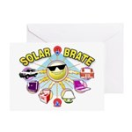 SolarBrate Greeting Card