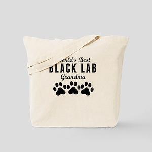 World's Best Black Lab Grandma Tote Bag