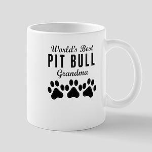 World's Best Pit Bull Grandma Mugs