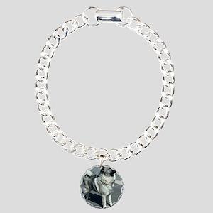 norwegian elkhound full 5 Bracelet
