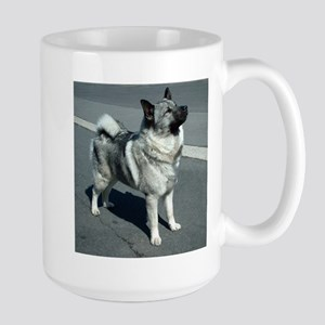 norwegian elkhound full 5 Mugs