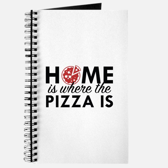 Home Is Where The Pizza Is Journal