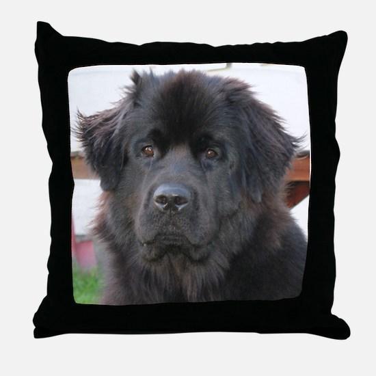newfie 2 Throw Pillow