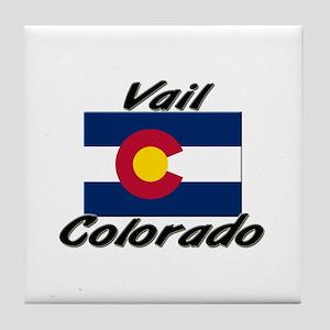 Vail Colorado Tile Coaster