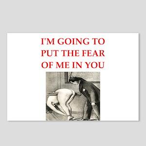 spanking joke Postcards (Package of 8)