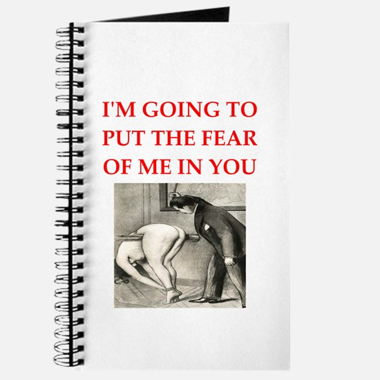 spanking joke Journal
